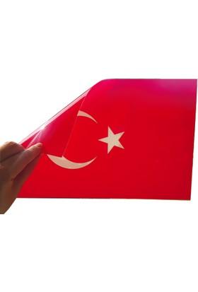 DirektAlYapışkansız Kendinden Yapışan Türk Bayrağı-Türkiye'de İlk
