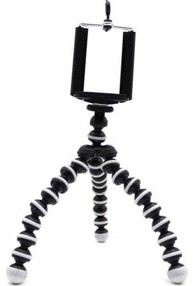 Welfare Ahtapot Akrobat Esnek Tripod Kamera Stand Çubuğu Tripot 17 Cm