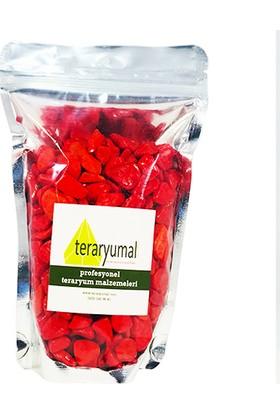Teraryumal Teraryum Malzemeleri Renkli Taşlar Teraryum Taşı Kırmızı