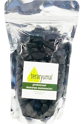 Teraryumal Teraryum Malzemeleri Renkli Taşlar Teraryum Taşı Siyah