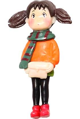 Teraryumal Teraryum Malzemeleri Sevimli Genç Kız Çocuk Figürü Model 2