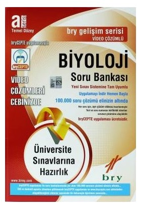 Birey A Serisi Biyoloji Soru Bankası Temel Düzey