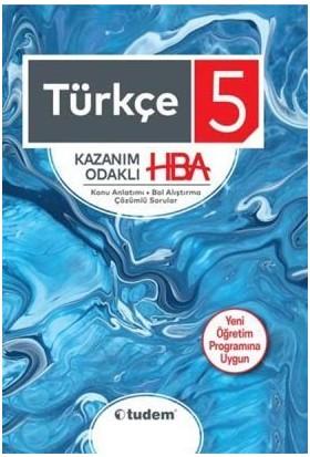 Tudem Yayınları 5. Sınıf Türkçe Kazanım Odaklı Hba