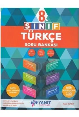 Yanıt Yayınları 8. Sınıf Türkçe Soru Bankası 2019 Yeni Müfredat