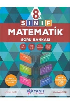 Yanıt Yayınları 8. Sınıf Matematik Soru Bankası 2019 Yeni Müfredat