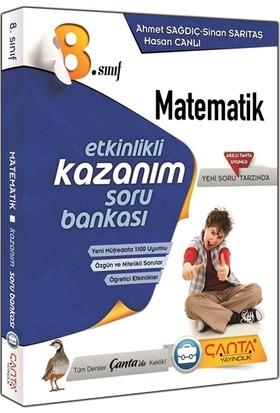 Çanta Yayınları 8.Sınıf Matematik Etkinlikli Kazanım Soru Bankası 2018 Yeni Müfredat