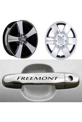 Mtm Fiat Freemont Kapı Kolu Jant Sticker
