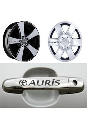 Mtm Toyota Auris Kapı Kolu Jant Sticker