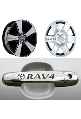 Mtm Toyota Rav4 Kapı Kolu Jant Sticker