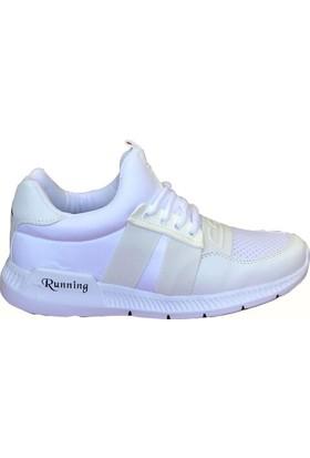 Consept 003 Beyaz Renk Günlük Ayakkabı