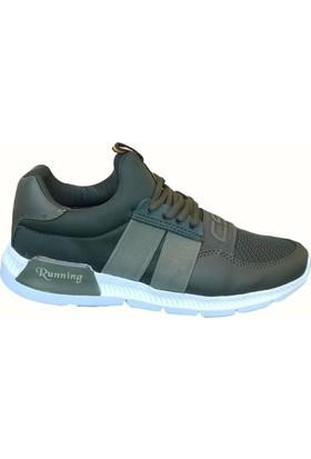 Consept 003 Haki Renk Günlük Ayakkabı