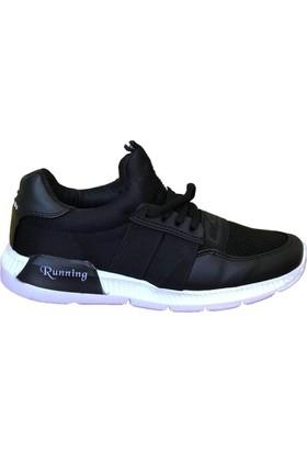 Consept 003 Siyah Renk Günlük Ayakkabı
