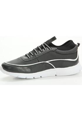 Consept 05 Siyah-Beyaz Renk Günlük Ayakkabı