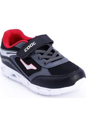 Cool Siyah-Kırmızı Renk Çocuk Ayakkabı