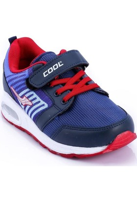 Cool Lacivert-Kırmızı Renk Çocuk Ayakkabı