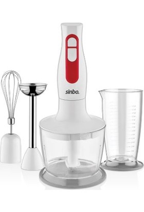 Sinbo Shb-3100S El Blender Seti Beyaz