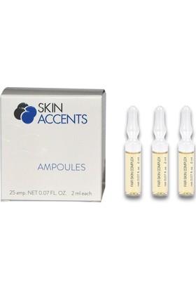 Skin Accents Leke Açıcı Ampul 3 Adet Skin Accents Cilt Bakım Serum 2 ml