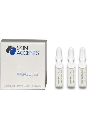 Skin Accents Gözenek Bakım Yağlı Cilt Ampul 3 Adet Skin Accents Cilt Bakım Serum 2 ml