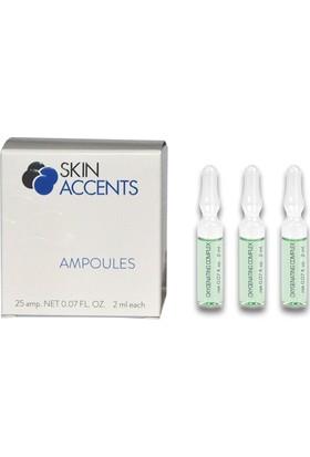 Skin Accents Oksijen Nemlendirici Ampul 3 Adet Skin Accents Cilt Bakım Serum 2 ml