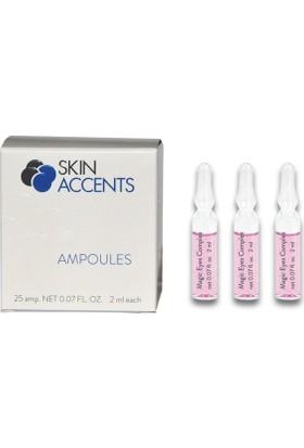 Skin Accents Göz Çevresi Ampul 3 Adet Skin Accents Cilt Bakım Serum 2 ml