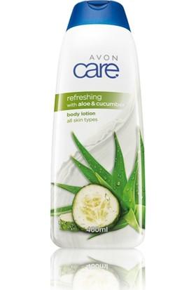 Avon Care Refreshing Aloe Vera ve E Vitamini İçeren Vücut Losyonu 400 Ml.