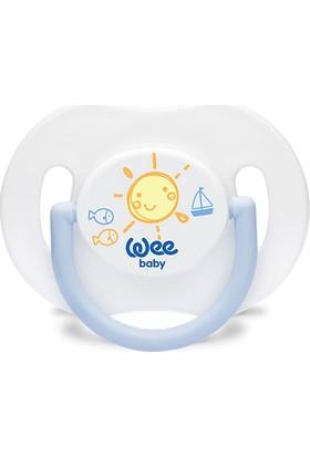Wee Baby 782 Special Saplı Kapaklı Emzik Damaklı 6 - 18 Ay