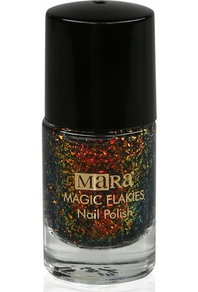 Mara Magic Flakies Oje Red Gold Green