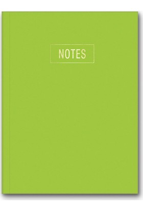 Le Color Notes Yeşil Defter