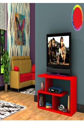 Rafline Optimum Tv Ünitesi Kırmızı