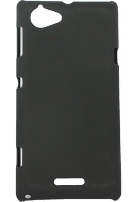 Case 4U ZTE Grand X Arka Kapak Siyah