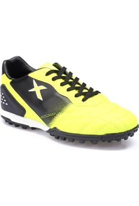 Kinetix Forlan Turf Neon Sarı Siyah Erkek Çocuk Halı Saha Ayakkabısı