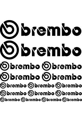 Sticker Masters Brembo Sponsor Set Sticker