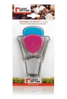Light My Fire® Grandpas's Fire Fork™ 2 adet Kamp Ateşi Çubuğu