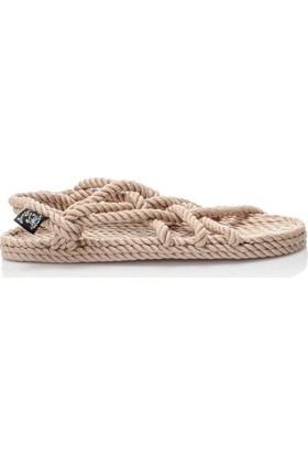 Nomadic Kadın Halat Sandalet Jc Jc-Camel