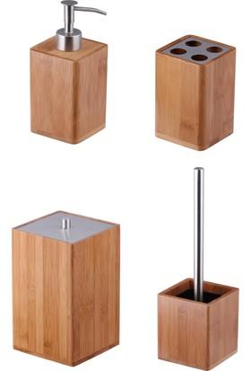 Rem Banyo Seti Bambu 4 Lü