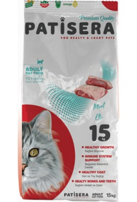 Patisera Etli Yetişkin Kedi Maması 15 Kg