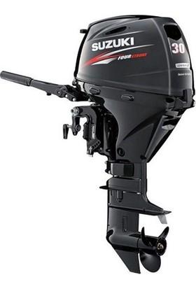 Suzuki 30 HP Uzun Şaft Marşlı&Remote Kontrol 4 Zamanlı Deniz Motoru