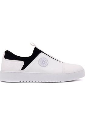 Moxee Beyaz Kadın Günlük Ayakkabı