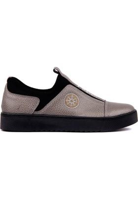 Moxee Platin Kadın Günlük Ayakkabı