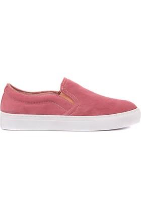 Moxee Bordo Kadın Günlük Ayakkabı