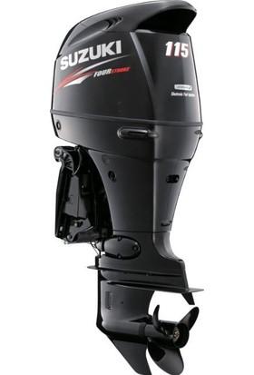 Suzuki 115 HP Uzun Şaft Marşlı&Remote Kontrol 4 Zamanlı Deniz Motoru