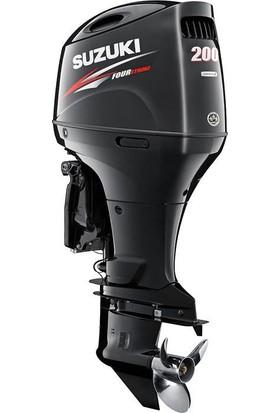 Suzuki 200 HP Extra Uzun Şaft Marşlı&Remote Kontrol 4 Zamanlı Deniz Motoru