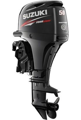 Suzuki 50 HP Uzun Şaft Marşlı&Remote Kontrol 4 Zamanlı Deniz Motoru