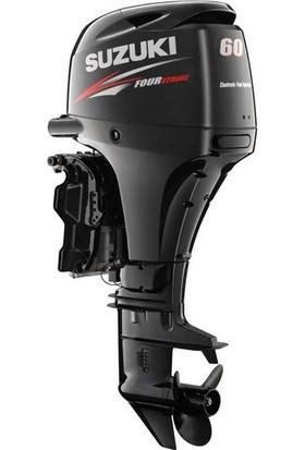 Suzuki 60 HP Uzun Şaft Marşlı&Remote Kontrol 4 Zamanlı Deniz Motoru