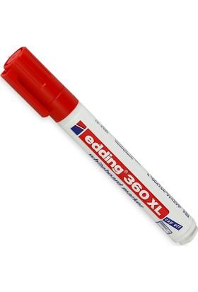 Edding Beyaz Tahta Kalemi Cap Off E-360Xl Kırmızı