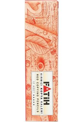 Fatih Kırmızı Kopya Kalemi 12'li (25020)