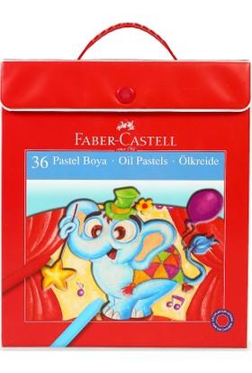 Faber-Castell Plastik Çantalı Tutuculu Pastel Boya, 36 Renk