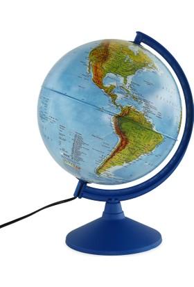 Işıklı Küre Fiziki ve Siyasi (30 cm)