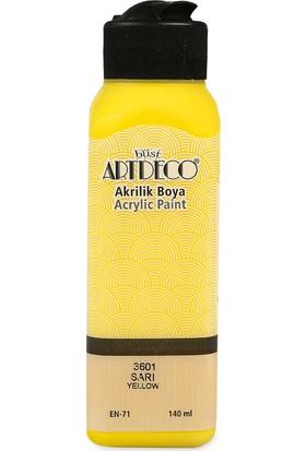 Artdeco Akrilik Boya 140 Ml Sarı Y-070R-3601