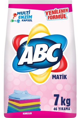 ABC Matik Color Toz Deterjan 7 Kg